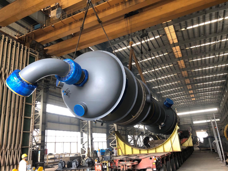 國內最大單套60萬噸合成氨控溫變換裝置核心設備